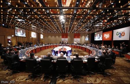 AUSTRALIA-G20-ECONOMY